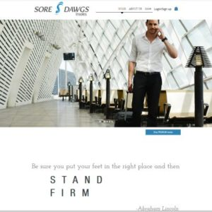 Hartley Web Design provided SEO consulting for the Sore Dawgs eCommerce website